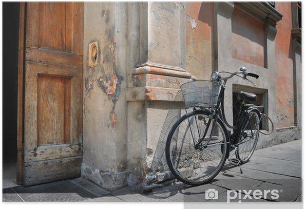 Poster Italian old-style Fahrrad - Europa