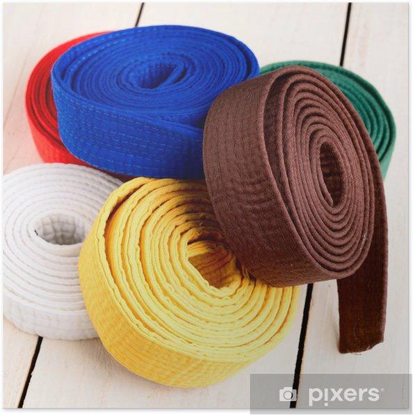 Poster Karate - Sportartikel