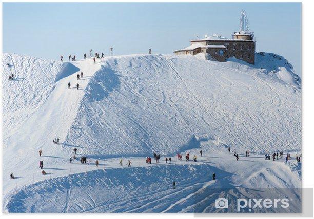 Poster Kasprowy Winter - Urlaub