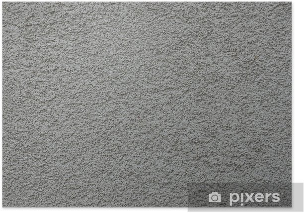 Poster Konkrete Textur (mittlere Qualität) - Themen