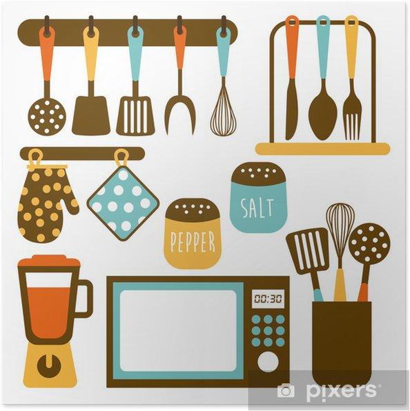 Poster Küche Design • Pixers® - Wir leben, um zu verändern