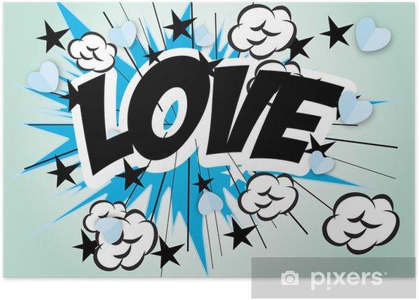 Poster Liebe - Themen