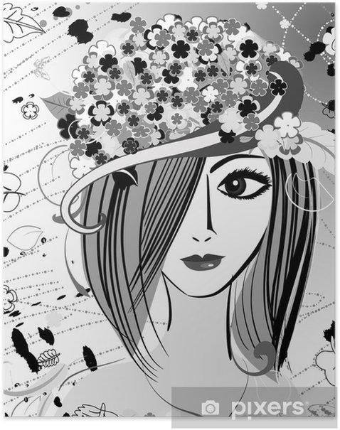 Poster Mädchen Muse - Sonstige Gefühle