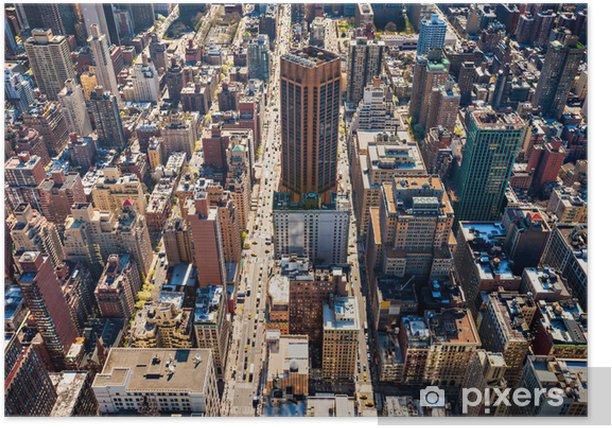 Poster Manhattan, New York City, USA - Amerikanische Städte