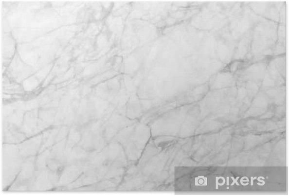 Poster Marmo Bianco Modellato Texture Di Sfondo Marmi Della