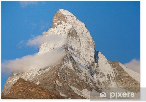 Poster Matterhorn - Europa