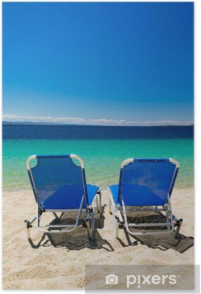 Poster Meer an der Griechenland - Jahreszeiten