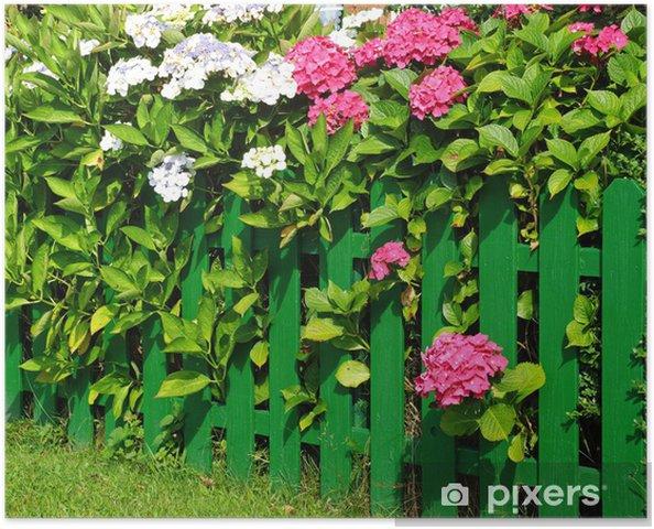 Poster Mein schöner Garten