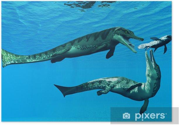 Poster Metriorhynchus Aquatic Reptilien - Themen