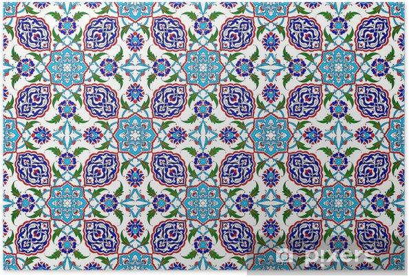 Poster Mosaik-Fliesen Muster