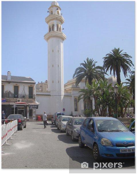 Poster Mosquée El-Biar, Alger - Naher Osten