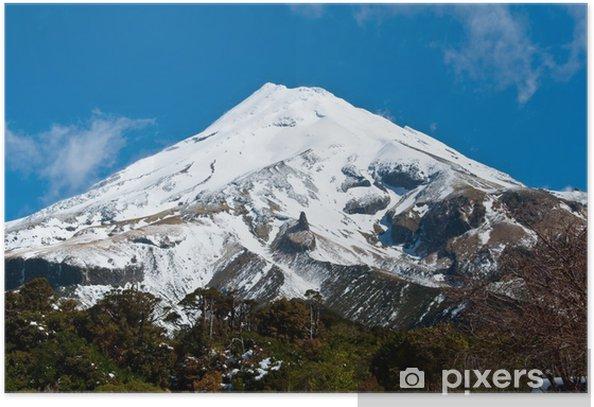 Poster Mount Egmont (Taranaki) - Naturwunder