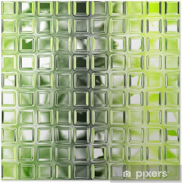 poster nahtlose gr ne glas fliesen textur hintergrund k che oder bathro pixers wir leben. Black Bedroom Furniture Sets. Home Design Ideas