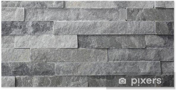 Poster Naturstein Granit Stücke Fliesen Für Wand