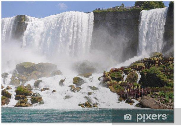Poster Nigara Wasserfälle - Themen