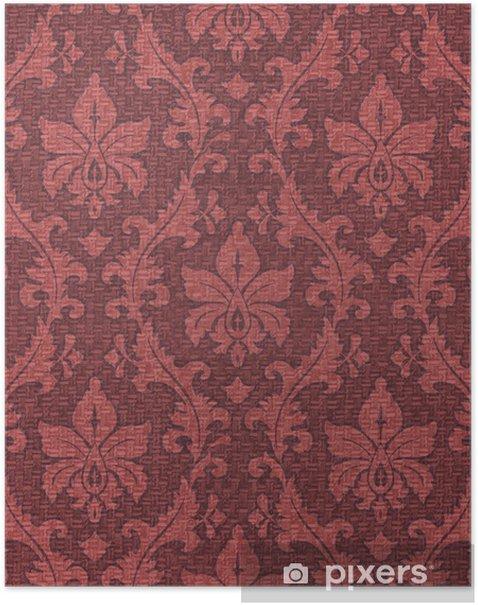 Poster Ornament Textur - Hintergründe