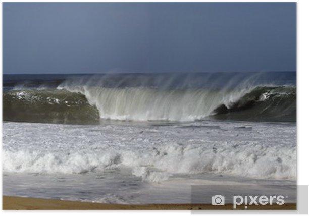 Poster Panorama surfen - Wasser