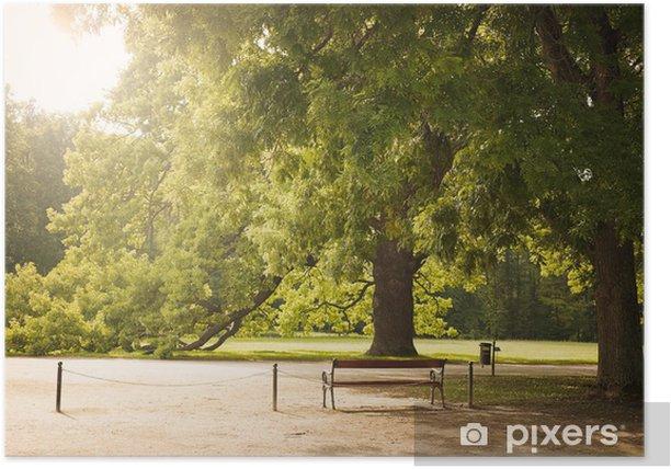 Poster Park - Jahreszeiten