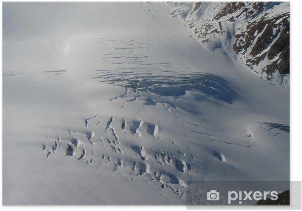 Poster Pitztaler Gletscher - Europa