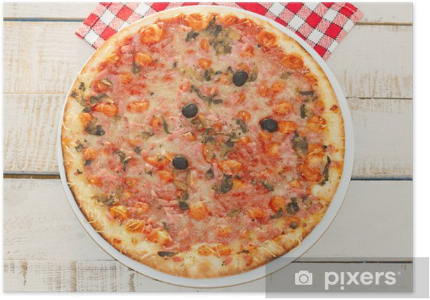 Poster Pizza - Bereich
