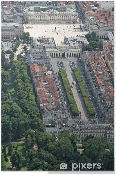 Poster Place Stanislas - Place de la carièrre - Urlaub