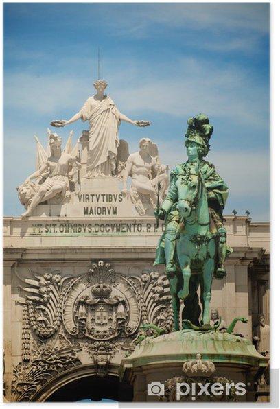 Poster Portugal - Leistung und Erfolg