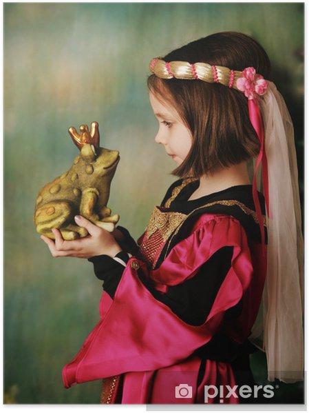 Poster principessa e il principe ranocchio u2022 pixers® viviamo per