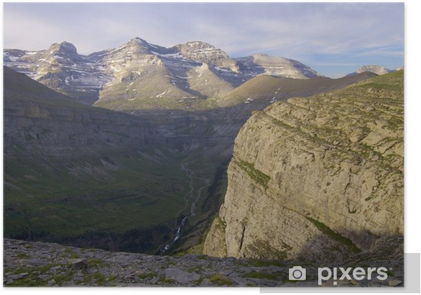 Poster Pyreneen - Europa