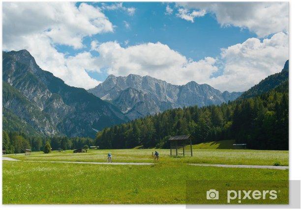 Poster Radfahren in Planica-Tal - Europa