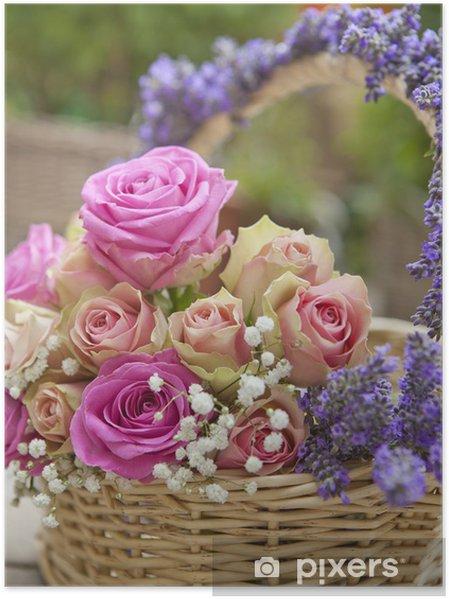 Lieblings Poster Rosen, Lavendel • Pixers® - Wir leben, um zu verändern &VA_75