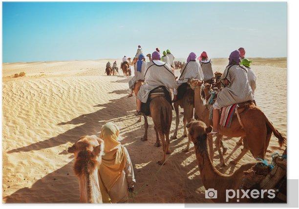 Poster Sahara - Afrika