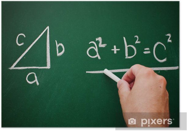 Poster Satz des pythagoras - Ausbildung