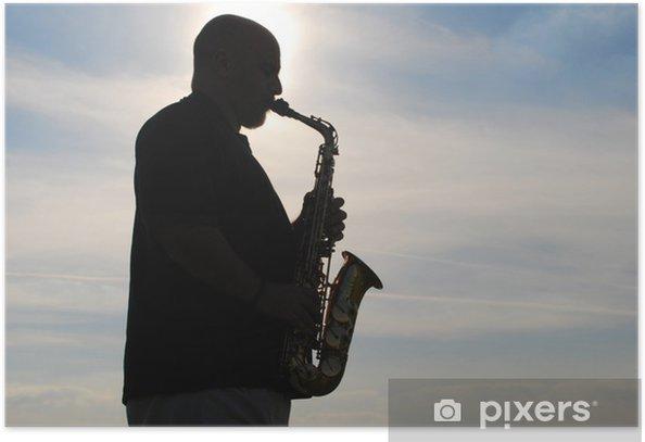 Poster Saxofonista - Sonstige Gefühle