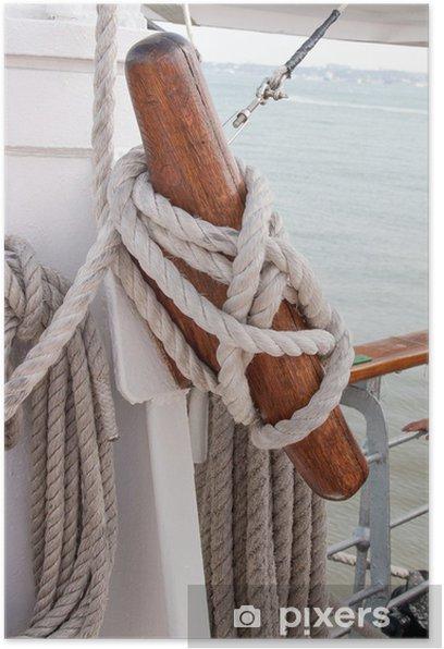 Poster Schiff Seil - Boote