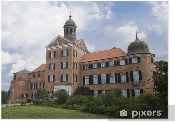 Poster Schloss Eutin - Öffentliche Gebäude