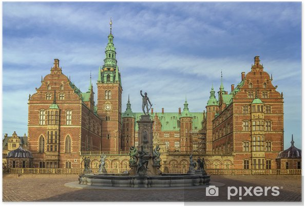 Poster Schloss Frederiksborg Dänemark Pixers Wir Leben Um Zu