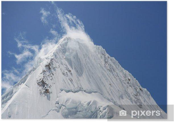 Poster Schöne peak alpamayo - Berge