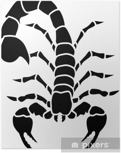 Poster Scorpio Tattoo - Andere Andere