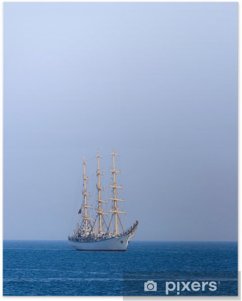 Poster Segelboot - Boote