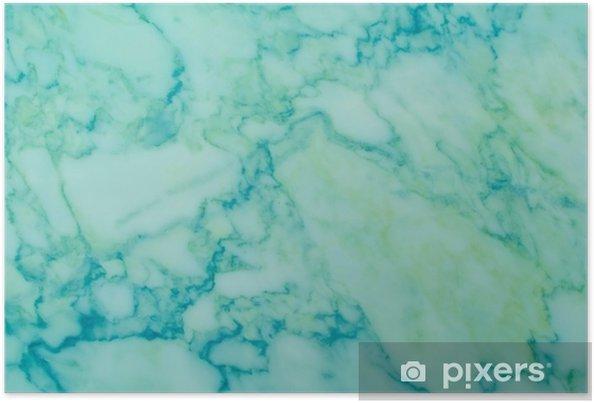 Poster Sfondo Di Natura Modello Di Marmo Verde E Blu Pixers