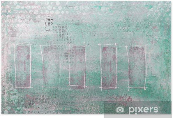 Poster Sfondo dipinto - Arte e Creazione