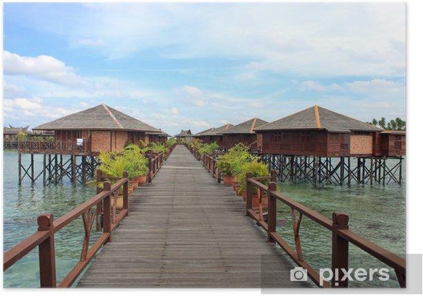 Poster Sipdan Water Village Resort - Urlaub