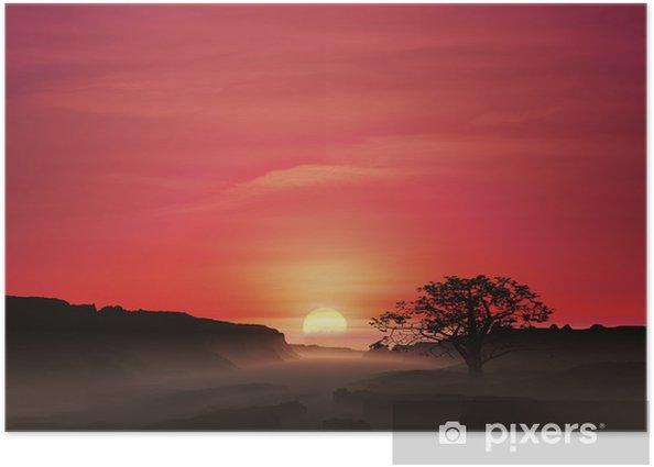Poster Sonnenaufgang - Himmel
