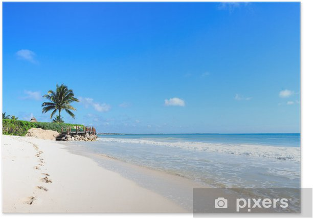 Poster Spiaggia messicana - Amerika