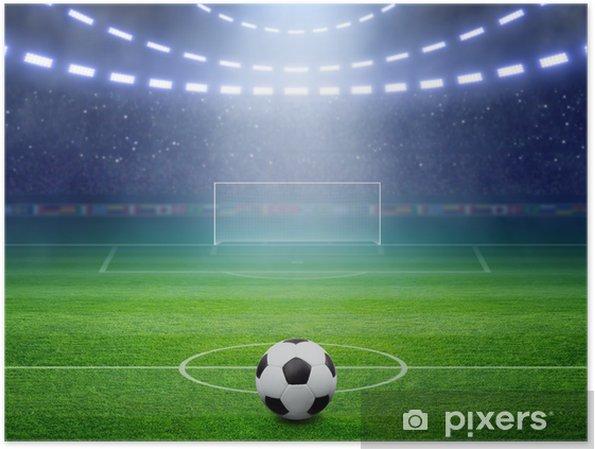 Poster Stadion Soccer