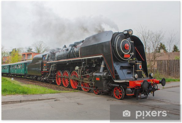 Poster Steam train - Themen