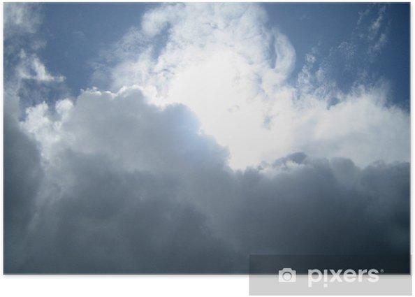 Poster Stormy Wolken - Themen