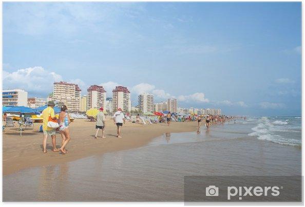 Poster Strand Von Gandia Spanien Pixers Wir Leben Um Zu Verändern