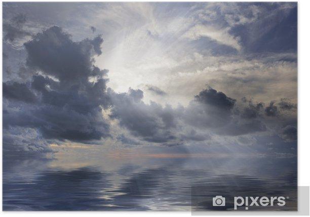 Poster Sunburst - Himmel