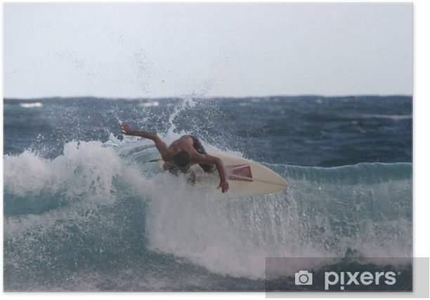 Poster Surfeur 2 - Wassersport
